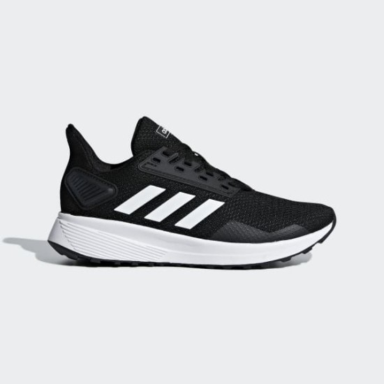adidas Duramo 9K Junior Trainers Black / White