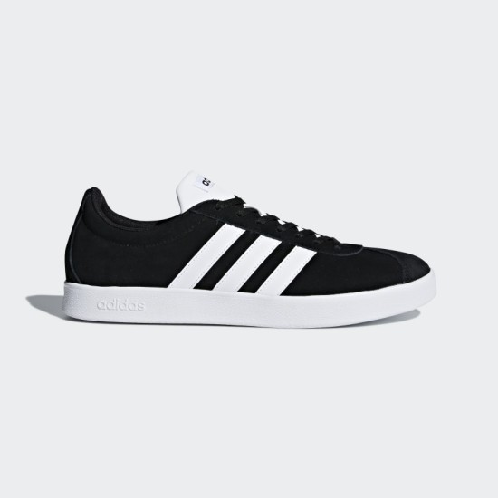 Adidas VL Court 2.0 Shoes Black / White