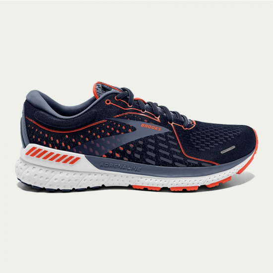 Brooks Adrenaline GTS 21 Navy / Red Clay / Grey