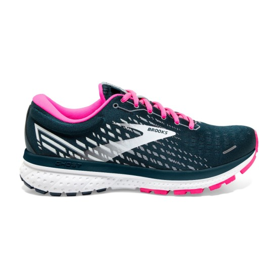 Brooks Ghost 13 Reflective Pond Blue / Pink / Ice