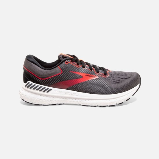 Brooks Transcend 7 Black / Ebony / Coral