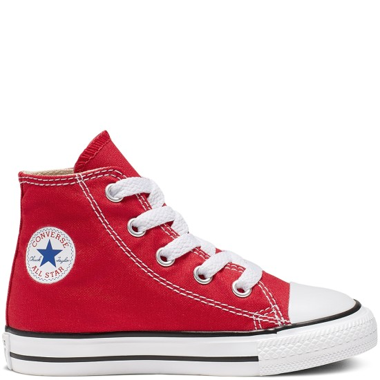 Converse Chuck Taylor All Star Toddler Classic High Red