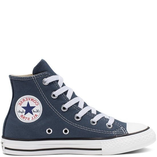 Converse Chuck Taylor All Star Youth Classic High Navy