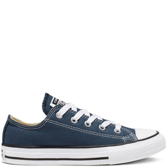 Converse Chuck Taylor All Star Youth Classic Low Navy