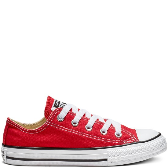 Converse Chuck Taylor All Star Youth Classic Low Red