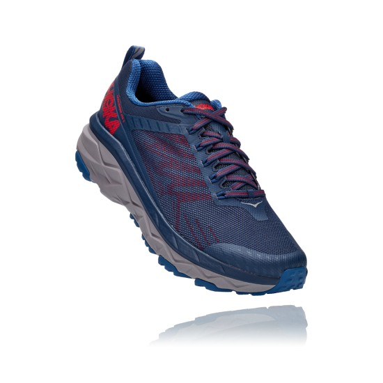 Hoka One One Challenger ATR 5 Dark Blue / High Risk Red