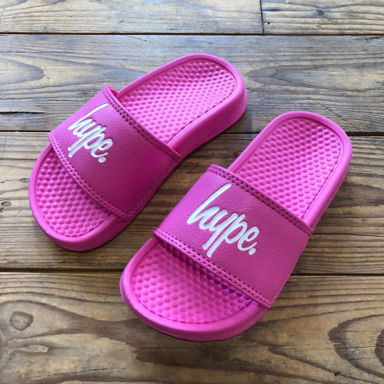 Hype Kids Sliders Pink