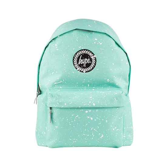 Hype Speckle Backpack Mint / White