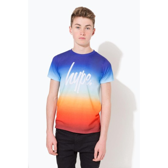 Hype Sundown Fade Script T-Shirt