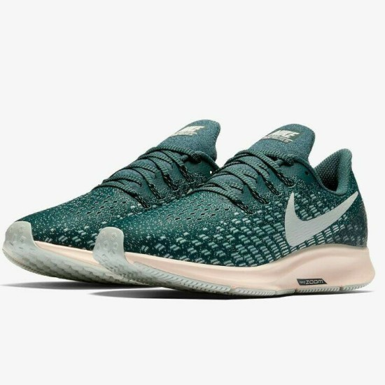 Nike Air Zoom Pegasus 35 Womens Faded Spruce / Light Silver