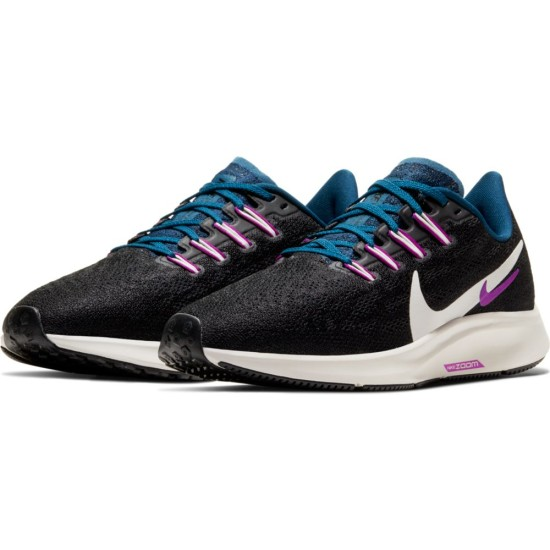 Nike Air Zoom Pegasus 36 Black / Summit White - Valerian Blue