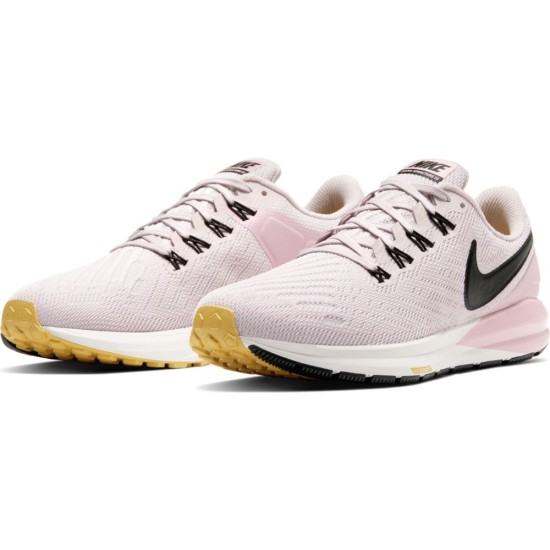 Nike Air Zoom Structure 22 Running Shoes Platinum Violet / Black - Plum