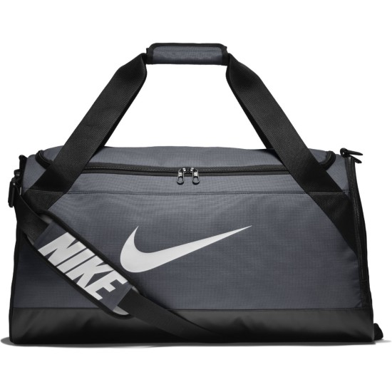 Nike Brasilia (Medium) Training Duffel Bag Grey