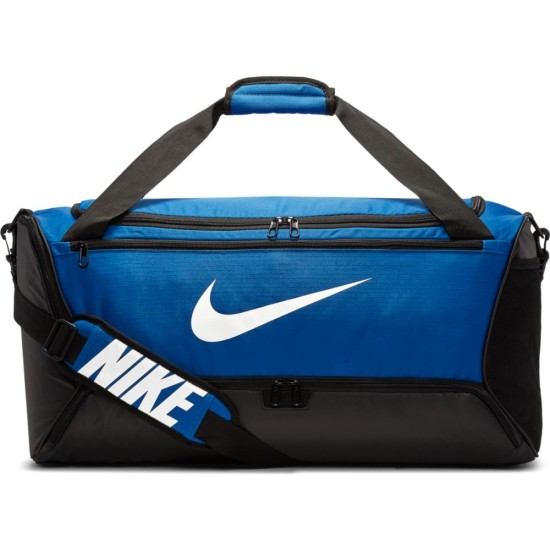 Nike Brasilia (Medium) Training Duffel Bag Royal / Black / White