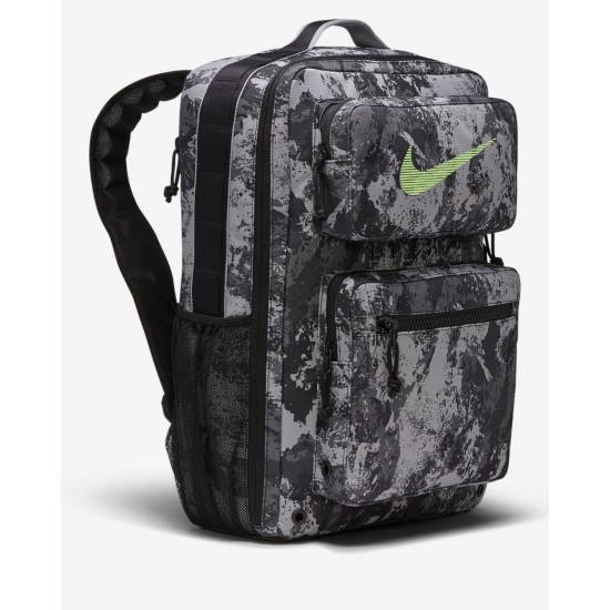 Nike Utility Speed Backpack Partical Grey / Black - Lime Blast