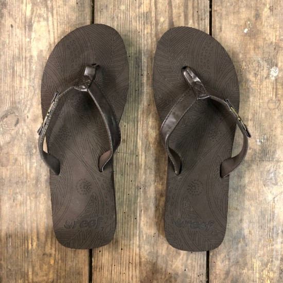 Reef D-Lish Flip Flops Brown