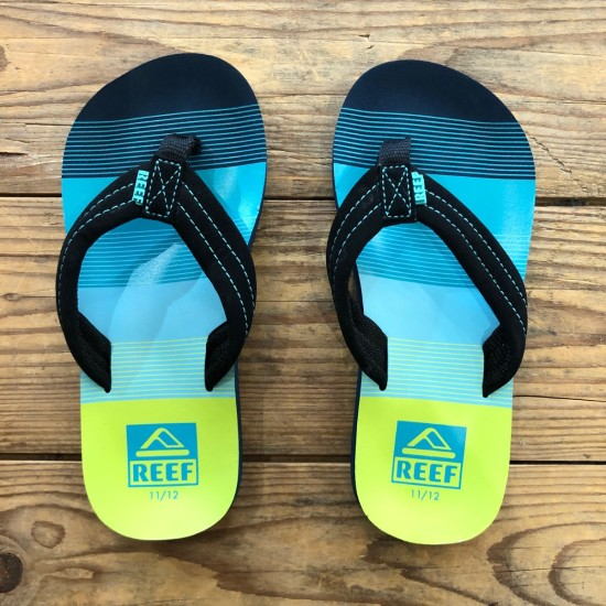 Reef Little Ahi Aqua / Green