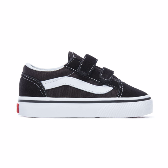 Vans Ward Velcro Toddler Black / White